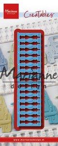 Marianne D Creatable Balkon LR0611 130x33mm