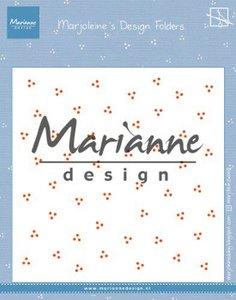 Marianne D Embossing folder Marjoleine's dots DF3455 152x154mm