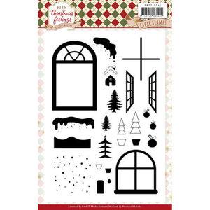 PMCS10041 Clear Stamps - Precious Marieke - Warm Christmas Feelings