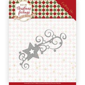 PM10162 Dies - Precious Marieke - Warm Christmas Feelings - Christmas Swirls